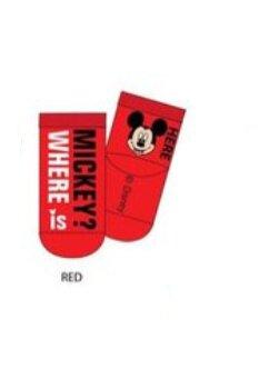 Sosete bebe, Where is Mickey, rosii