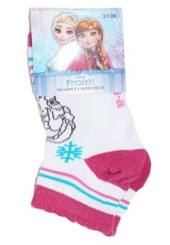Sosete, Elsa, Queen of snow, albe