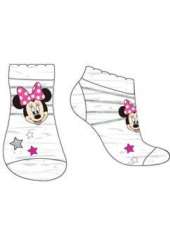 Sosete gri cu dungi argintii, Minnie Mouse
