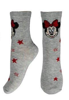Sosete gri cu stelute, Minnie Mouse