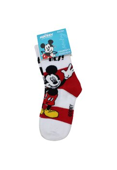 Sosete Mickey, Hey albe cu dungi rosii