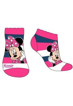 Sosete roz cu dungi bluemarin, Minnie Mouse