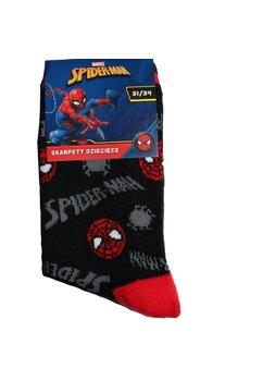 Sosete, Spider Man, negre cu figurine