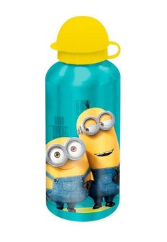 Sticla de aliminiu, Minions, cu capac galben