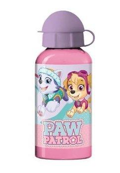 Sticla de aluminiu 400 ml, Patrula Catelusilor, roz