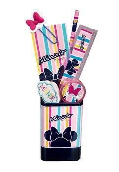 Suport cu accesorii birou, Minnie Mouse, 7 piese