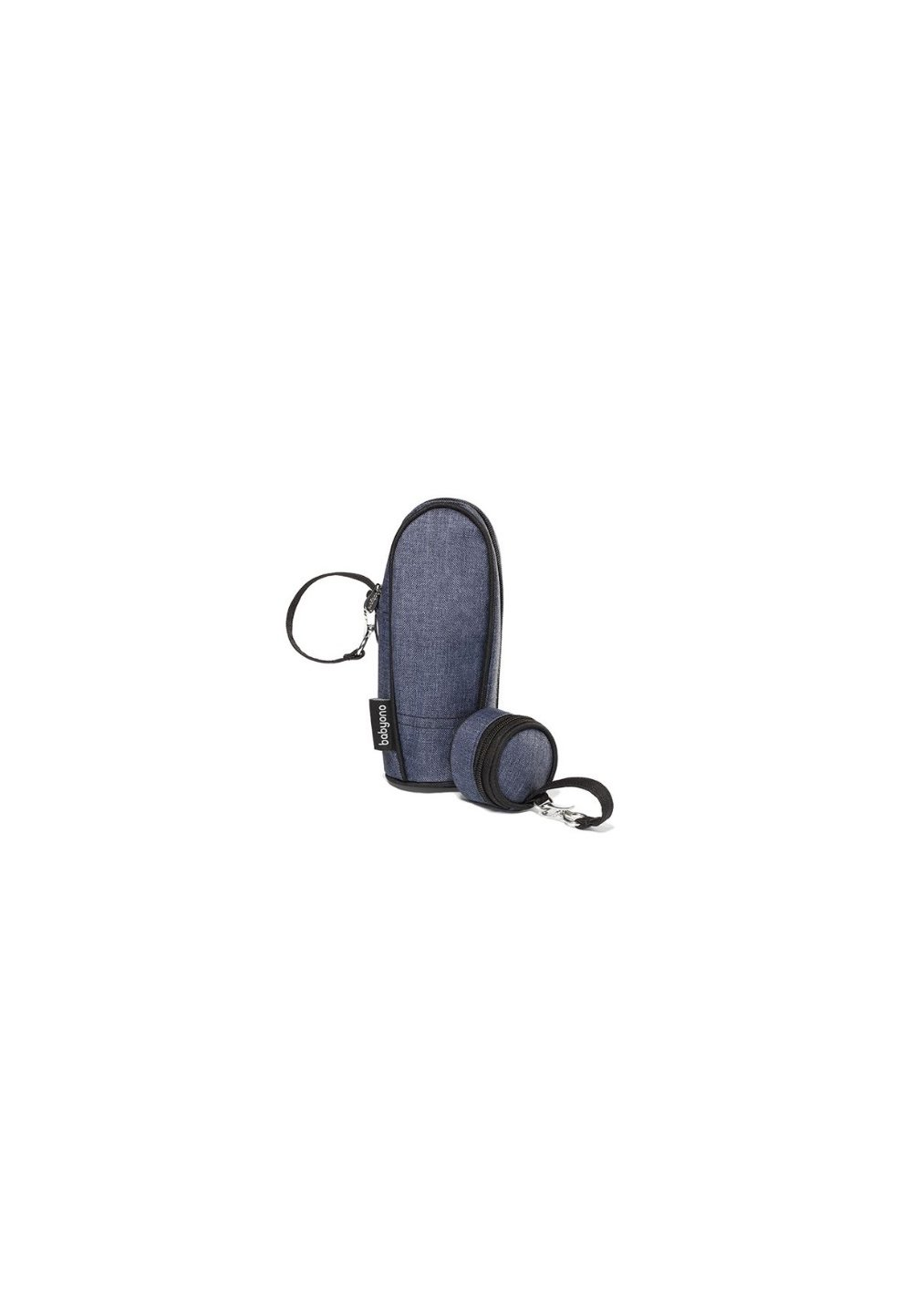 Suport termic pentru biberon +suport suzeta, bluemarin