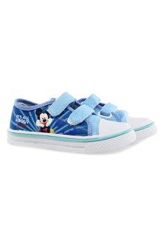 Tenisi cu scai, All about Mickey, albastru deschis