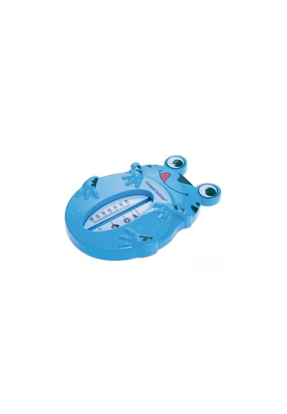 Termometru baie, broscuta, albastra imagine
