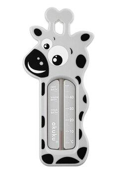 Termometru baie, girafa, gri