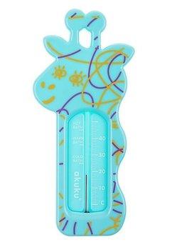 Termometru baie, girafa, turcoaz