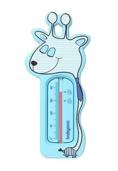Termometru pentru baie, girafa, albastru deschis