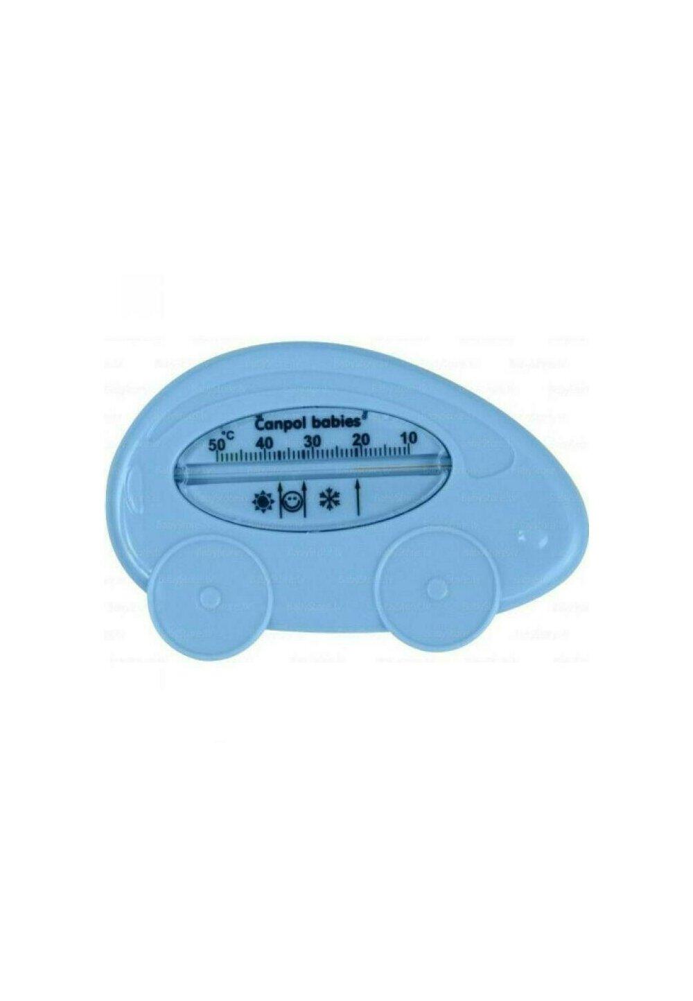 Termometru pentru baie, masinuta, albastra 2/784 imagine