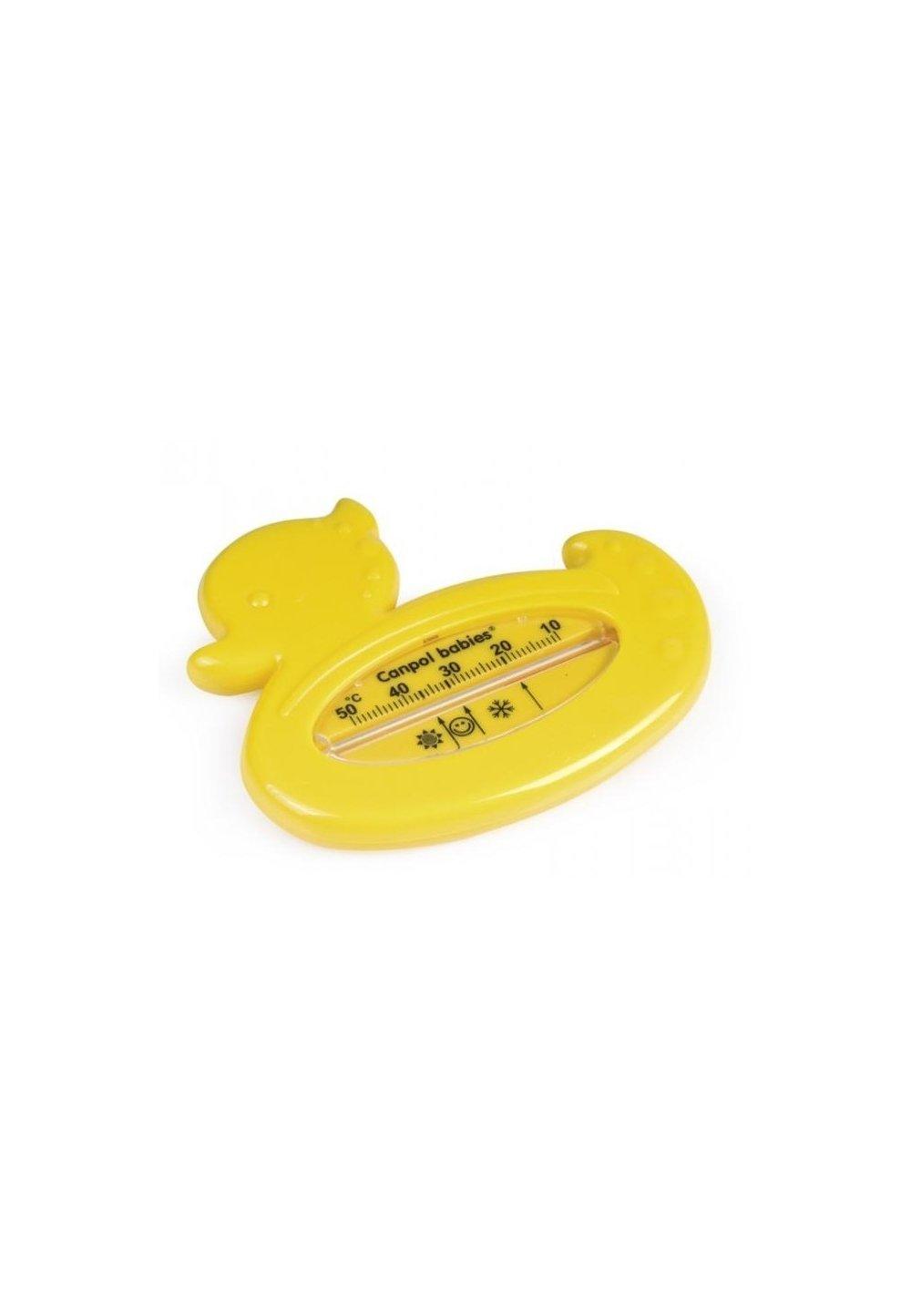 Termometru pentru baie, ratusca, galben imagine