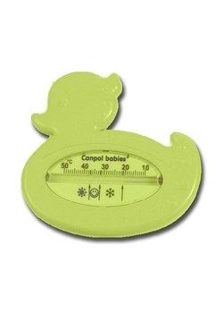 Termometru pentru baie, ratusca, verde deschis