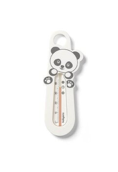 Termometru pentru baie, ursulet panda, alb