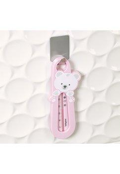 Termometru pentru baie, ursulet roz