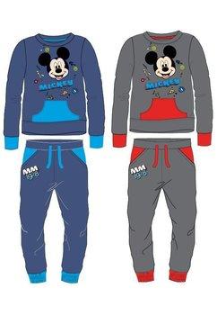 Trening baieti, cu hanorac, Mickey Mouse, albastru