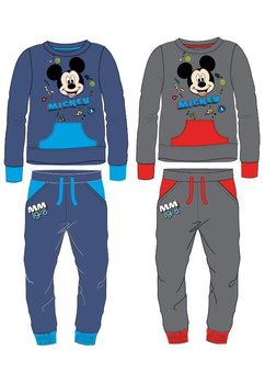 Trening baieti, cu hanorac, Mickey Mouse, gri
