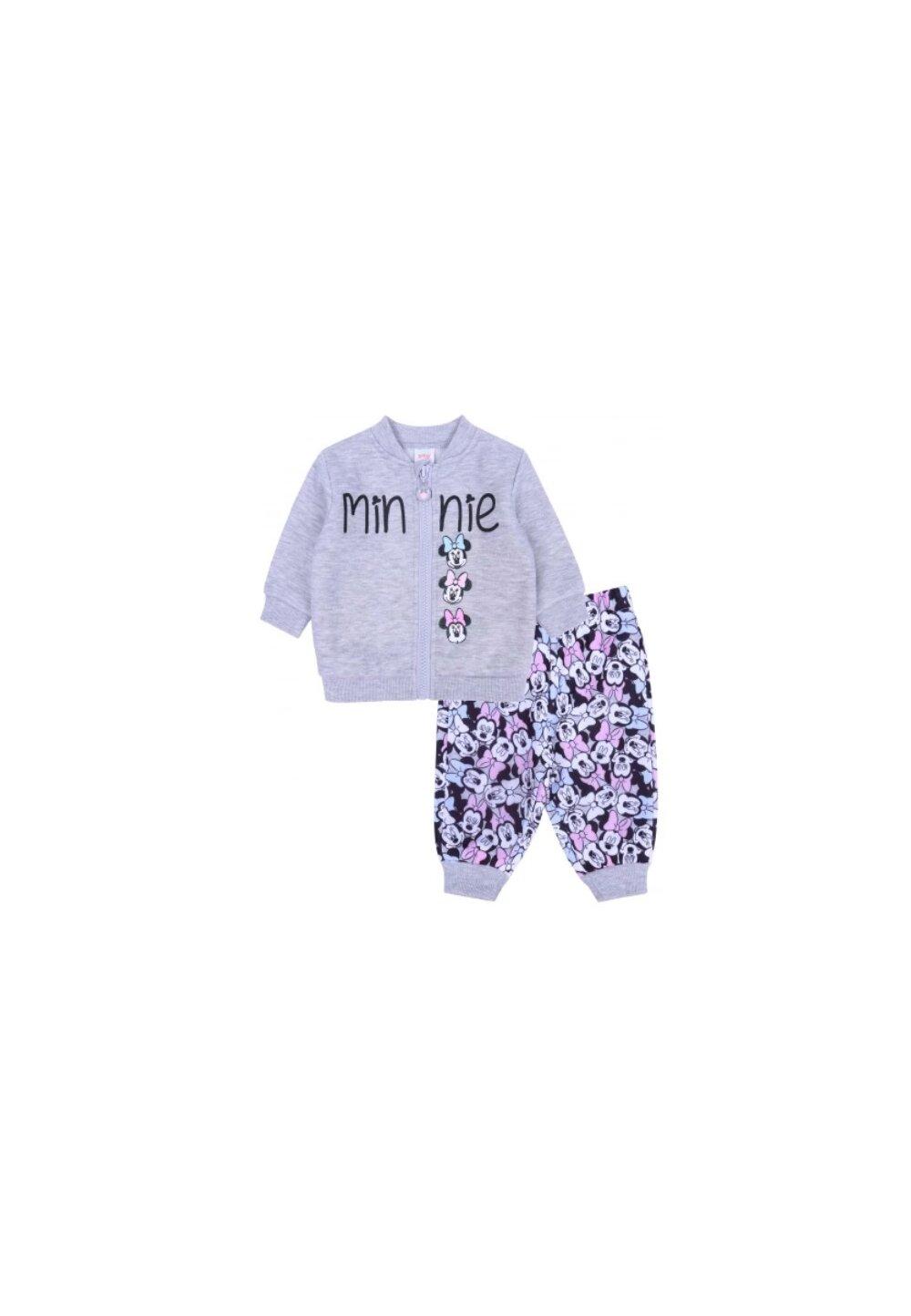 Trening bebe, Minnie cu fundita, gri imagine