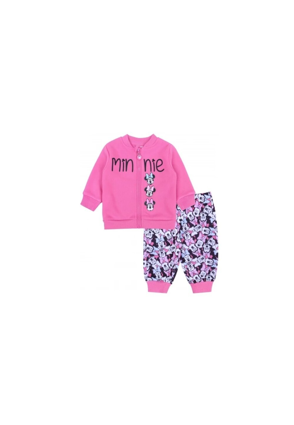 Trening bebe, Minnie cu fundita, roz imagine