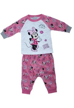 Trening bebe, Minnie, Style icon, roz cu gri