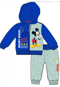 Trening bebe, Mickey Mouse Rules, albastru