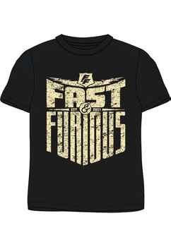 Tricou adulti, Fast and furious, negru
