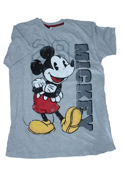 Tricou adulti  gri Mickey8796