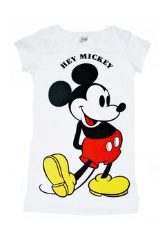 Tricou adulti, Hey Mickey, alb
