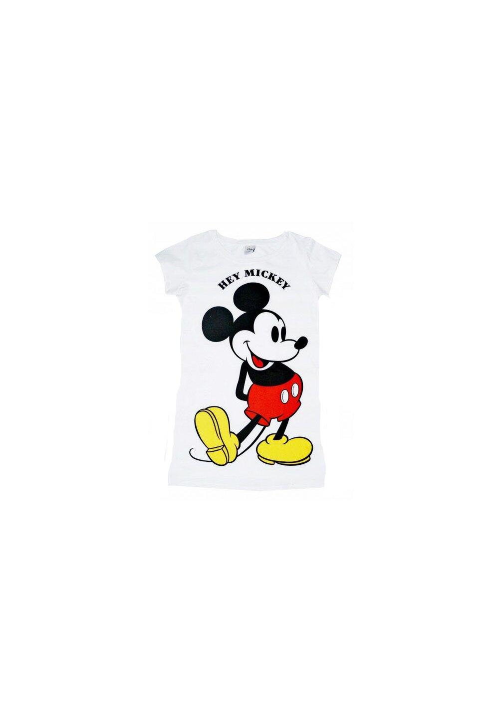Tricou adulti, Hey Mickey, alb imagine