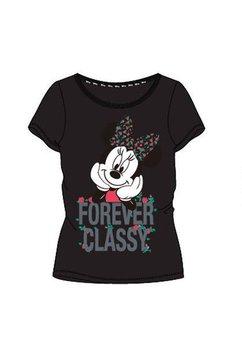 Tricou adulti, Minnie Mouse, Forever Classy, negru