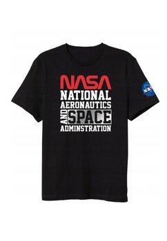 Tricou adulti, National aeronautics, negru