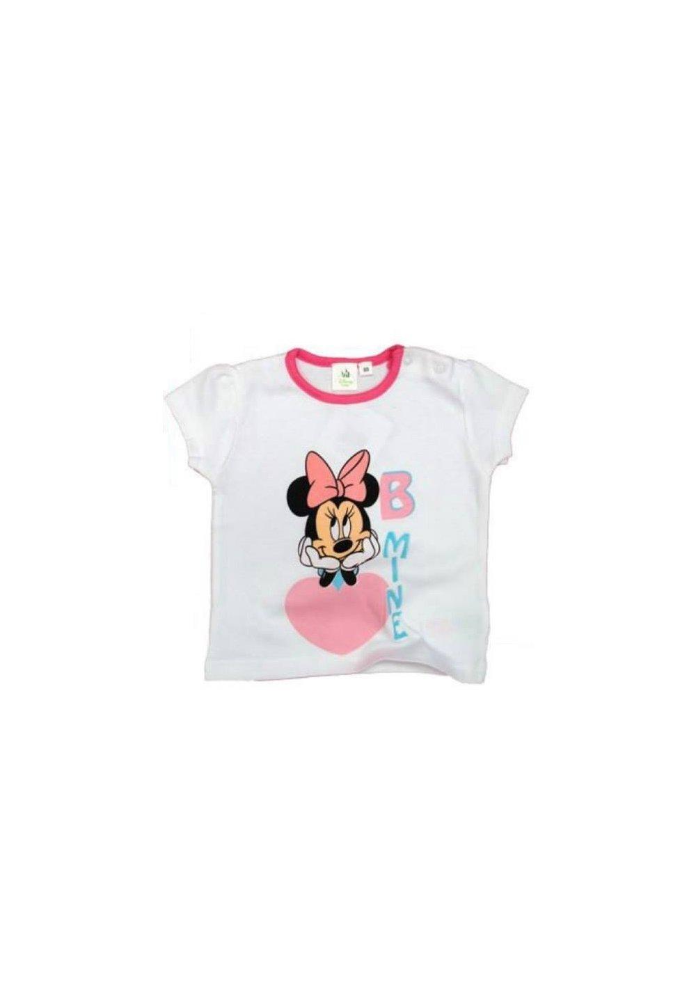 Tricou alb bebe Minnie 4949 imagine