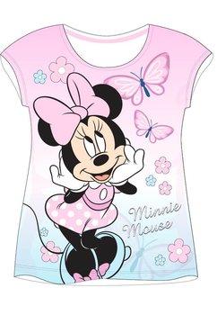 Tricou alb cu fluturasi, Minnie Mouse