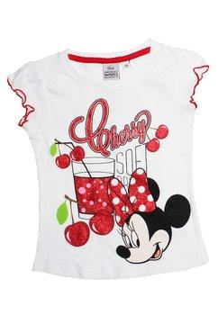 Tricou alb Minnie Mouse, Cherry