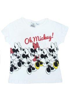Tricou, alb, Oh Mickey