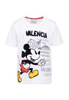Tricou alb, Valencia, Mickey Mouse