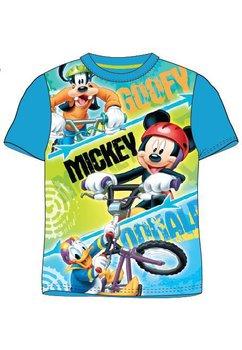 Tricou albastru, Goofy, Mickey si Donald