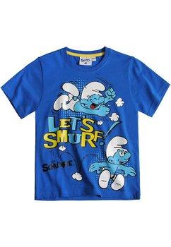 Tricou albastru Let`s smurf