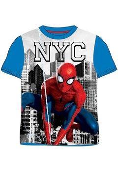 Tricou albastru, NYC, Spider