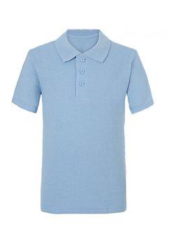 Tricou albastru, polo
