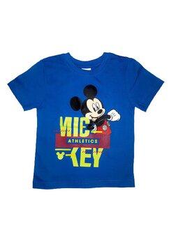 Tricou baieti, Mickey Athletics, albastru