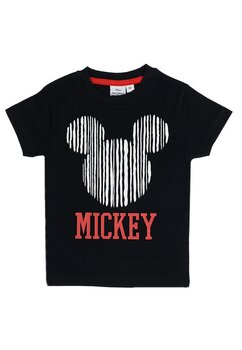 Tricou baieti, Mickey Mouse, negru