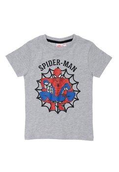 Tricou baieti, Spider Man, gri