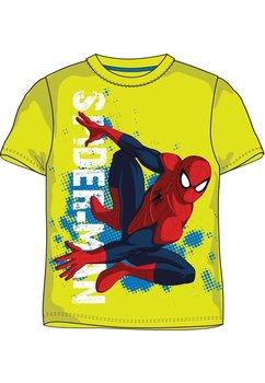 Tricou baieti,  Spiderman, galben