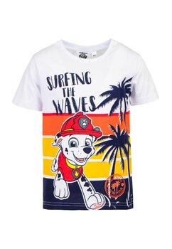 Tricou baieti, Surfing the Waves, portocaliu