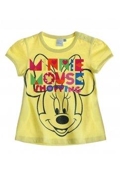 Tricou bebe Minnie yellow