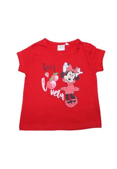 Tricou bumbac, Berry Lovely, rosu