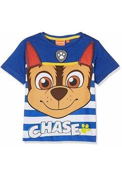 Tricou Chase, albastru cu dungi